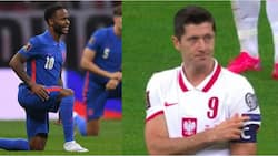 What Lewandowski did when Polish fans booed England for taking a knee before World Cup qualifier