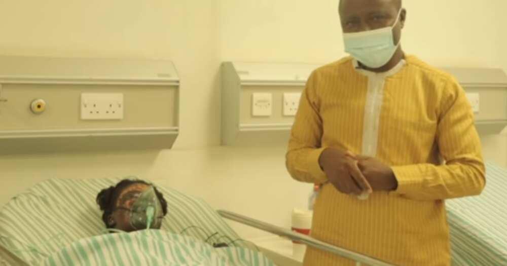Heartbreak as woman disfigured by husband's acid bath narrates her ordeal in emotional video