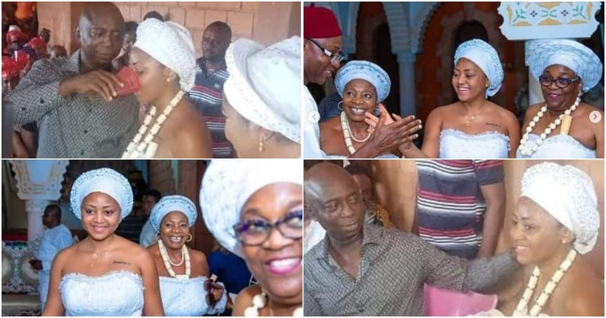 Regina Daniels traditionally ties the knot with 59-year-old billionaire