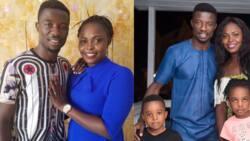 Kumawood actor Kwaku Manu and his US-based wife's marriage hit the rocks; details drop