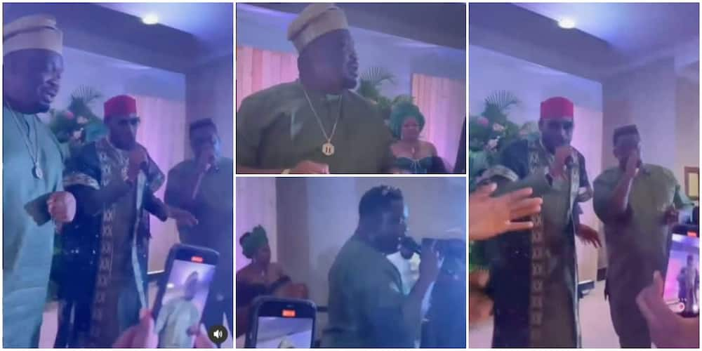 Mo'hits 'Reunites' As Don Jazzy, Dbanj and Wande Coal Perform Together at Rapper Ikechukwu's Wedding