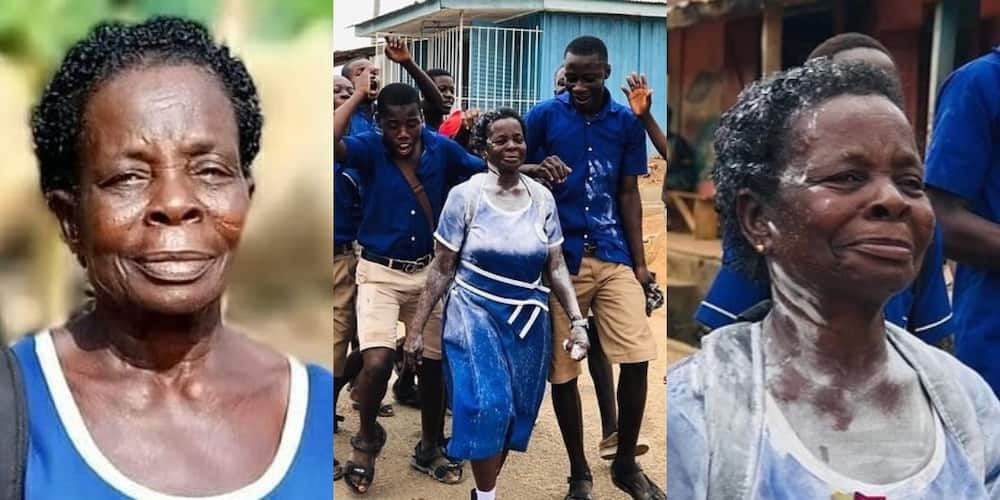 I want to be a nurse in future - 57-year-old BECE graduate Elizabeth Yamoah talks ambition
