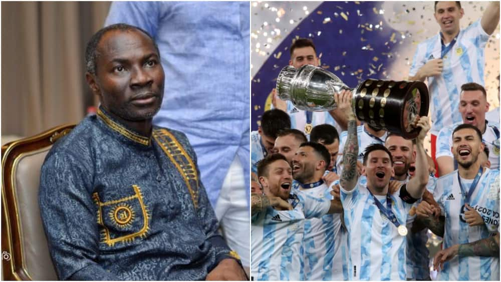 Copa America Final: Badu Kobi's Brazil win prophecy fails