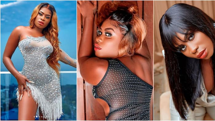 Yaa Jackson drops 10 photos in see-through and other wild dresses ahead of her b'day