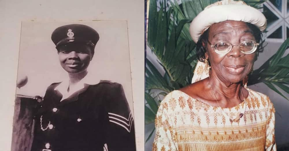 Rosemond Asiama: First female officer in Ghana's history dies aged 91