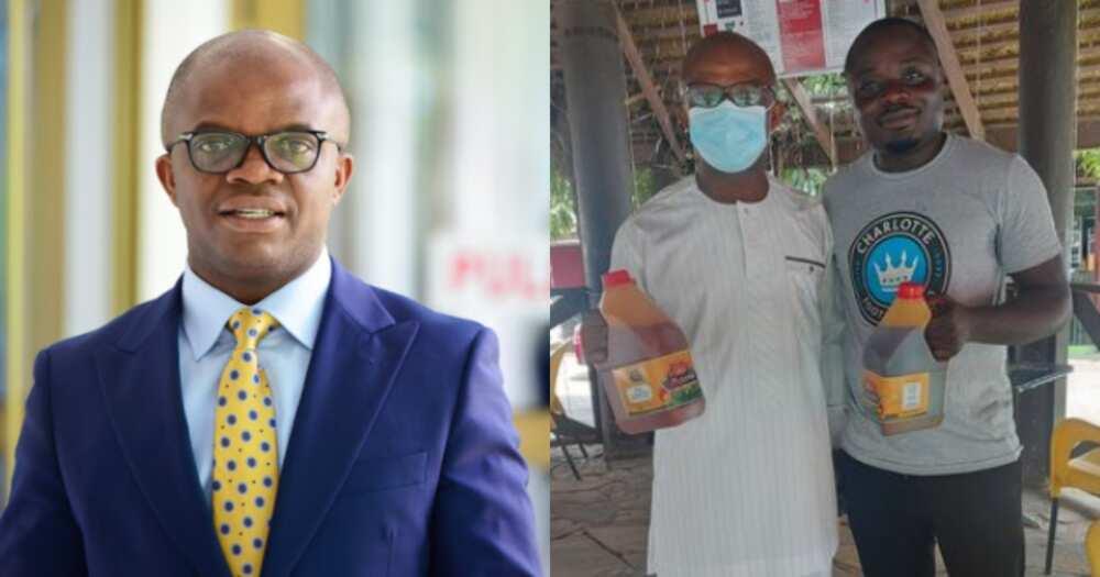 Stephen Amoah: Meet the Ghanaian MP who sells palm oil as a side hustle