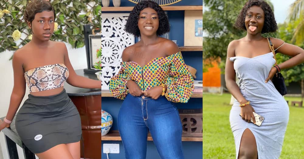7 Photos of Hajia Bintu that shows she is the real queen of curves in Ghana