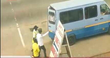 Policeman secretly filmed rejecting bribe from 'trotro' driver in Accra