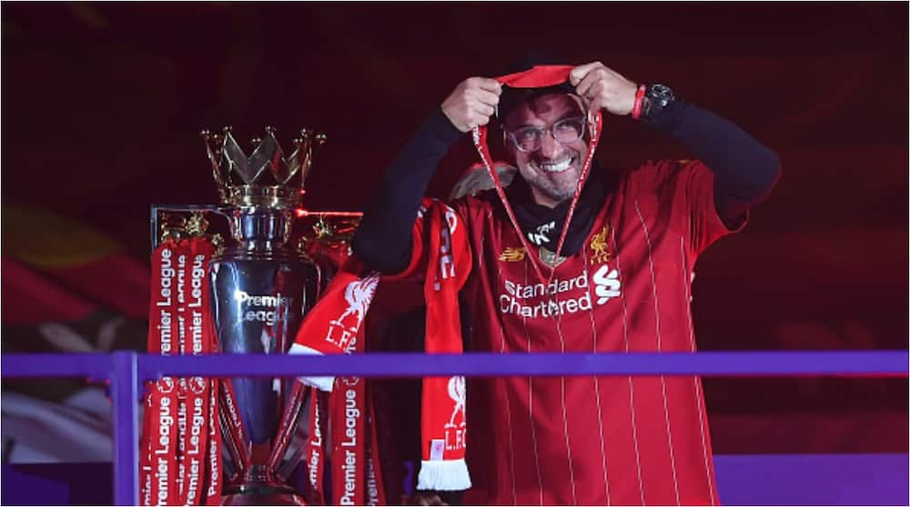 Jürgen Klopp: German tactician named League Managers Association manager of the year