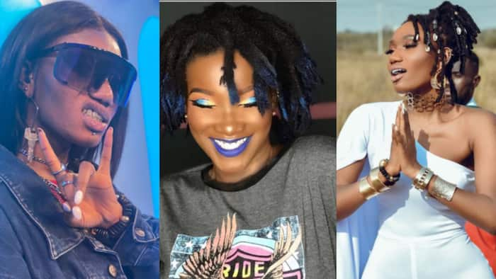 """""""I have 15 piercings, more to come"""" - Wendy Shay challenges Ebony who had 9 piercings, 17 tattoos"""