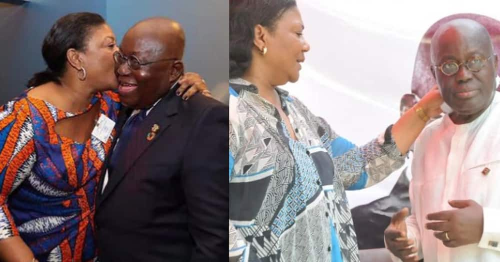AKufo-Addo says he is lucky to have understanding Rebecca as wife