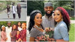I spend time with one Mondays and Tuesdays; Man who married two pretty wives explains in video