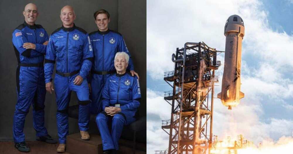 Jeff Bezos, Space, Rocket Ship, New Shephard