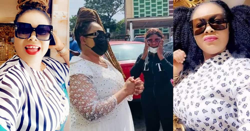 Nana Agradaa 'Mellows' In Video After Being Rearrested Following GHC500k Bail