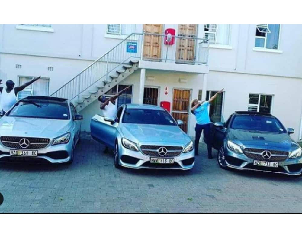 A man shared a photo of cars he and 2 of his friends bought, many congratulate the new owners. Image: Instagram michael_bhucwa