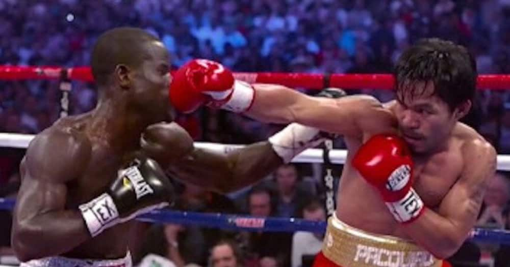 Joshua Clottey wants to fight Manny Pacquiao again for free