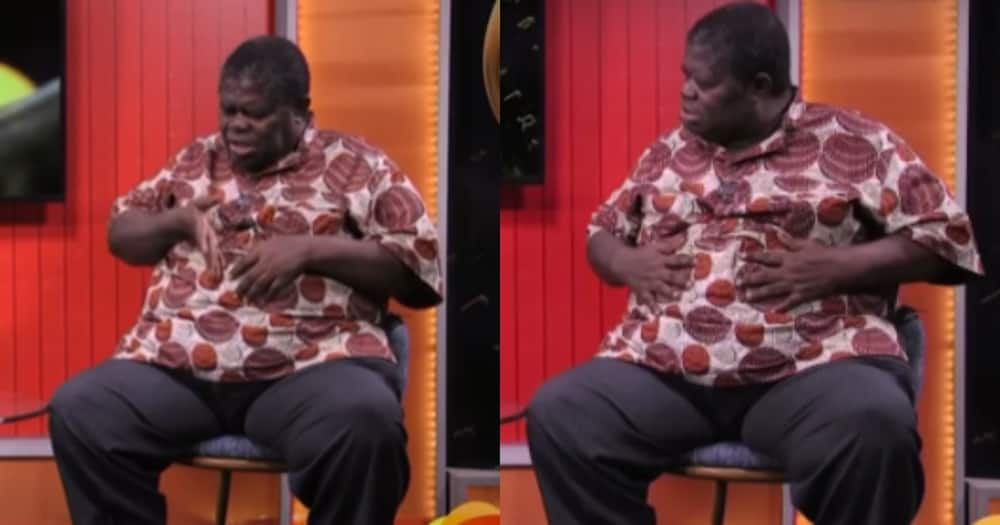 Psalm Adjeteyfio: My big Stomach because I have a Problem with my Intestines