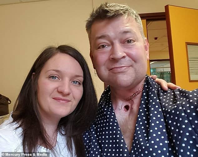 Heartbroken widow, 37, gives birth to IVF twins conceived using her husband's frozen sperm three years after he died of throat cancer