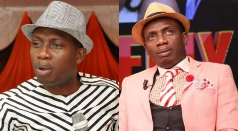 Ghanaians react to Nana Aba Anamoah's ban on George Lutterodt