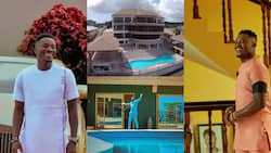 Asamoah Gyan gives fans a look into his $3m mansion & cars as he celebrates his 35th birthday (photos)