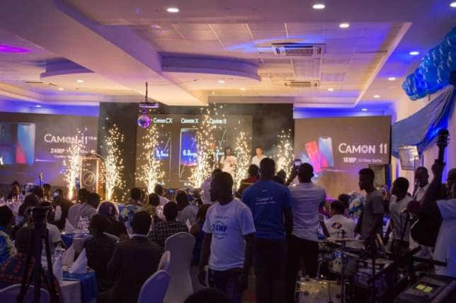 TECNO unveils CAMON 11 and CAMON 11 Pro in Ghana