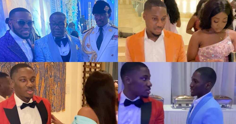 Cindy Ofori Sarpong wedding: How Despite's sons Kennedy, Saahene, Ofori, Kwame Osei attended