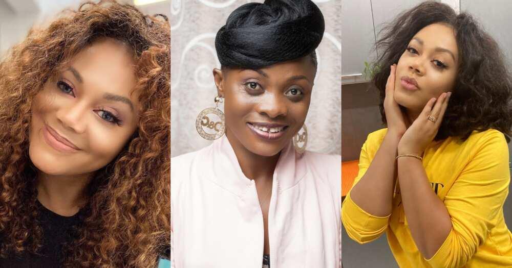 Nadia Buari mimics Diana Asamoah's way of speaking in new video