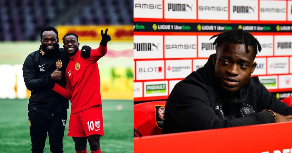Stade Rennais new boy Kamaldeen Sulemana reveals Michael Essien's role in his move to France