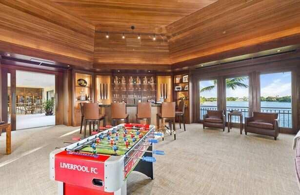Inside Liverpool owner's mulitmillion dollar mansion (Photos)