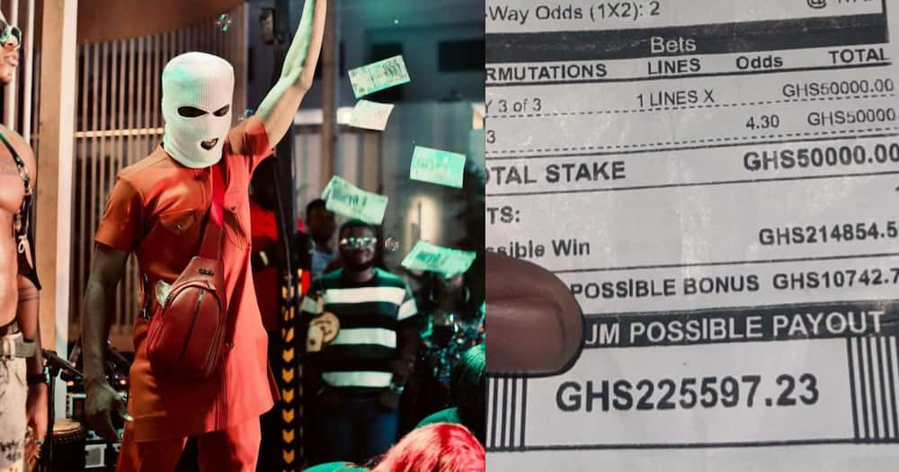 Sugar Kwami: Young Ghanaian Man Wins Over GHC200k With A Bet On Just 3 Matches