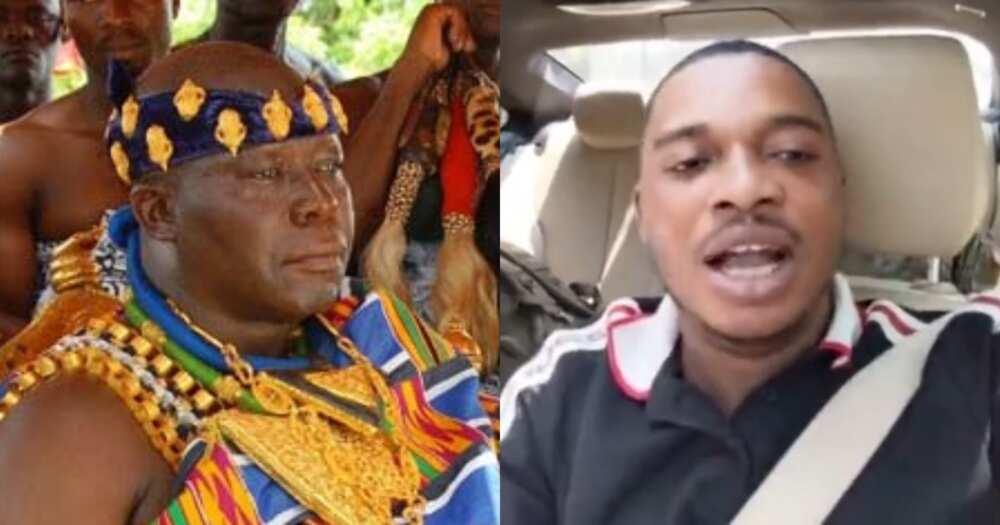 Twene Jonas Makes U-Turn; Pays Homage To Otumfuo In New Video After Massive Curses