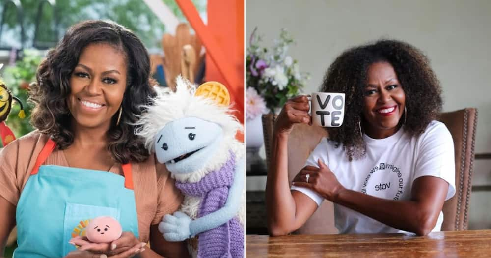 """Michelle Obama to launch new children's show on Netflix: """"Waffles and Mochi"""""""