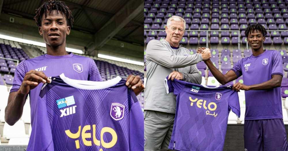 Ghanaian teenager Abraham Okyere joins Belgium First Division side Beershot