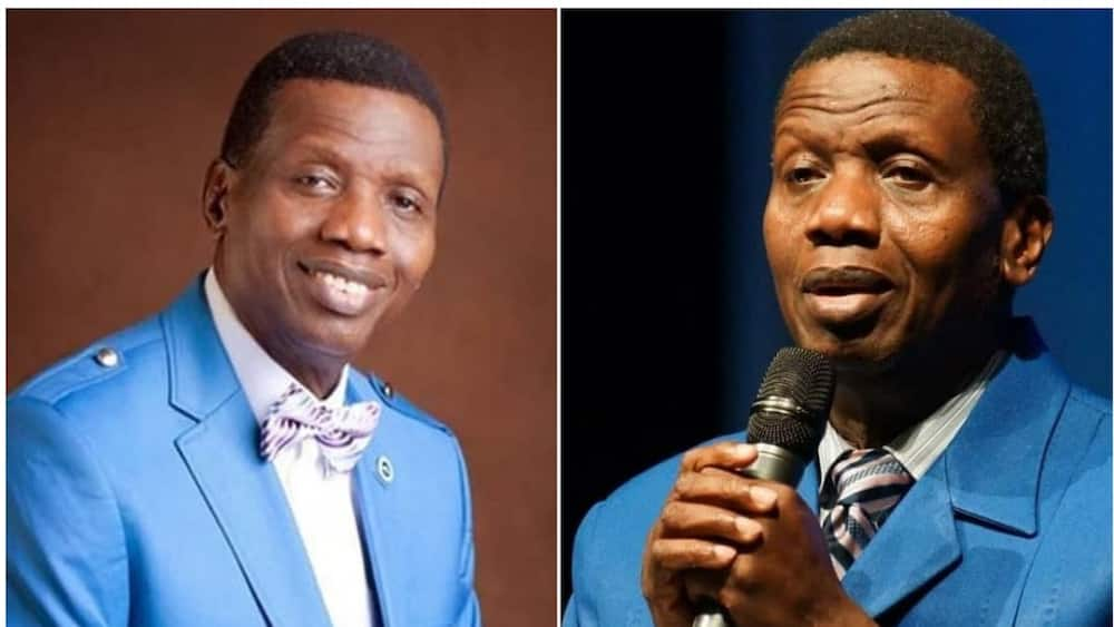 A collage of the RCCG overseer. Photo source: Daily Post