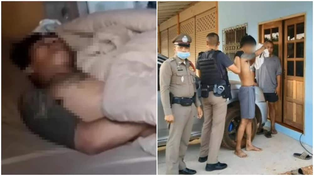Thai man falls asleep at house he was trying to rob. What happened next is hilarious