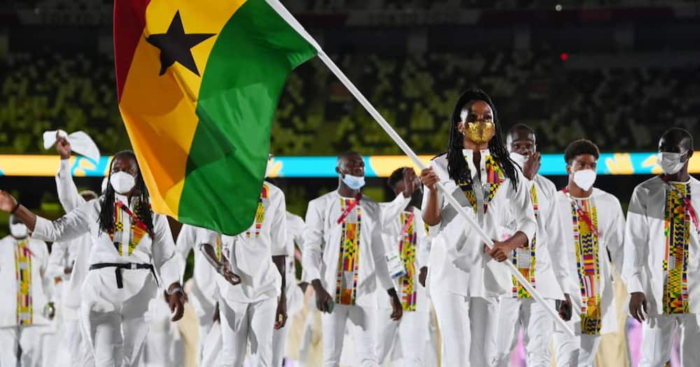 Watch behind the scene moments of Team Ghana from the Tokyo 2020 Opening Ceremony