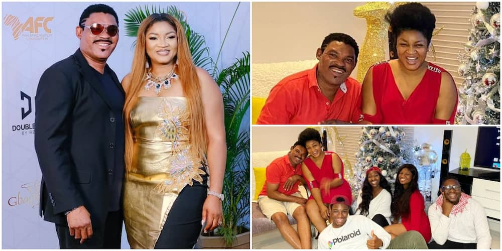 25 Years Strong: Actress Omotola Jalade-Ekeinde and Hubby Mark Wedding Anniversary with Cute Photo