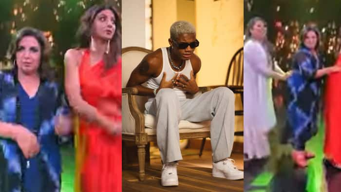 Grace - KiDi 'shouts' as he reacts to top Indian stars dancing to his song 'Touch It' in new video