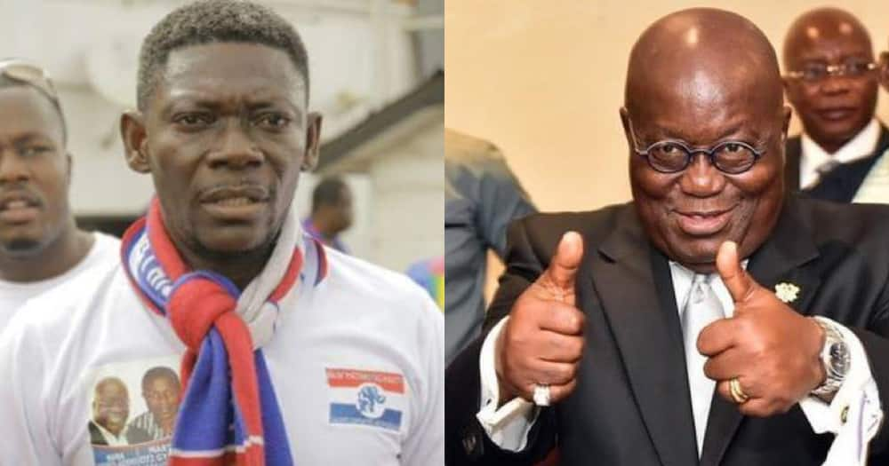 Actor Agya Koo calls on Ghanaians to vote for NPP and Akufo-Addo for development