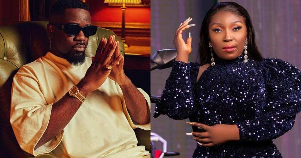 Sarkodie: Rapper Calls Eno Barony a full MC, not Female Rapper