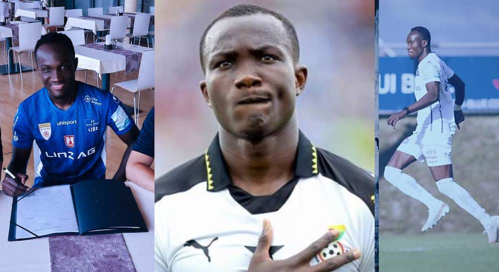 Not giving up - Raphael Dwamena ready to explode at BW Linz despite twice diagnosed with heart problem