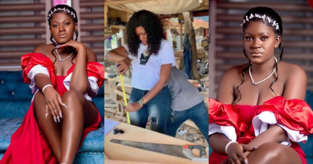 I used to hawk on the streets - Ghanaian female carpenter recounts journey as she marks her b'day
