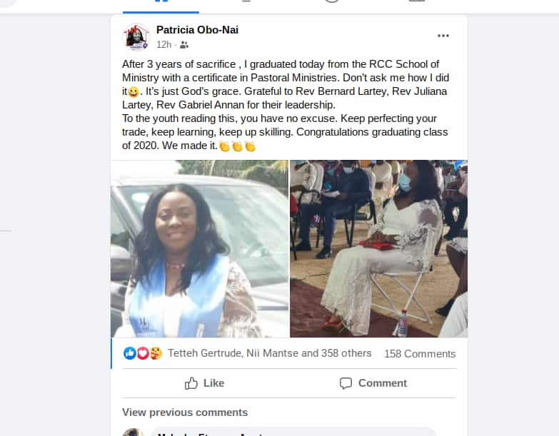 Vodafone Ghana CEO Patricia Obo-Nai ordained as pastor; lovely photos drop