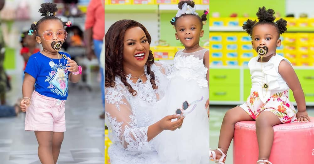 Nana Ama McBrown reveals drinking her daughter Baby Maxin's urine to save her life (video)