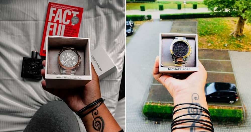 Woman reveals her crush surprised her with an expensive watch