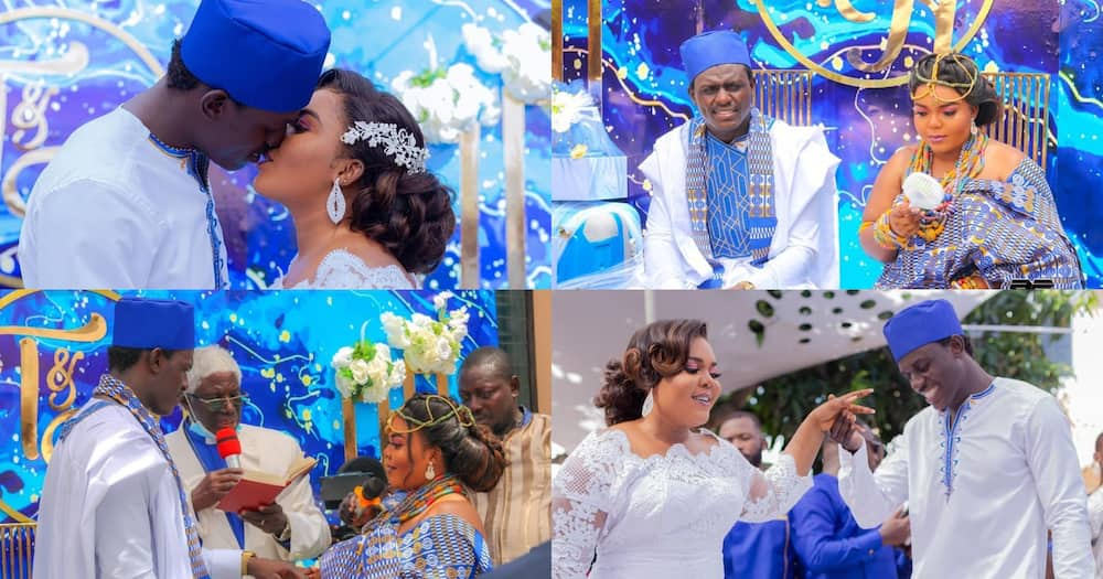 Comic Star MJTheComedian Marries Pretty Fiance In Beautiful Wedding; Photos Drop