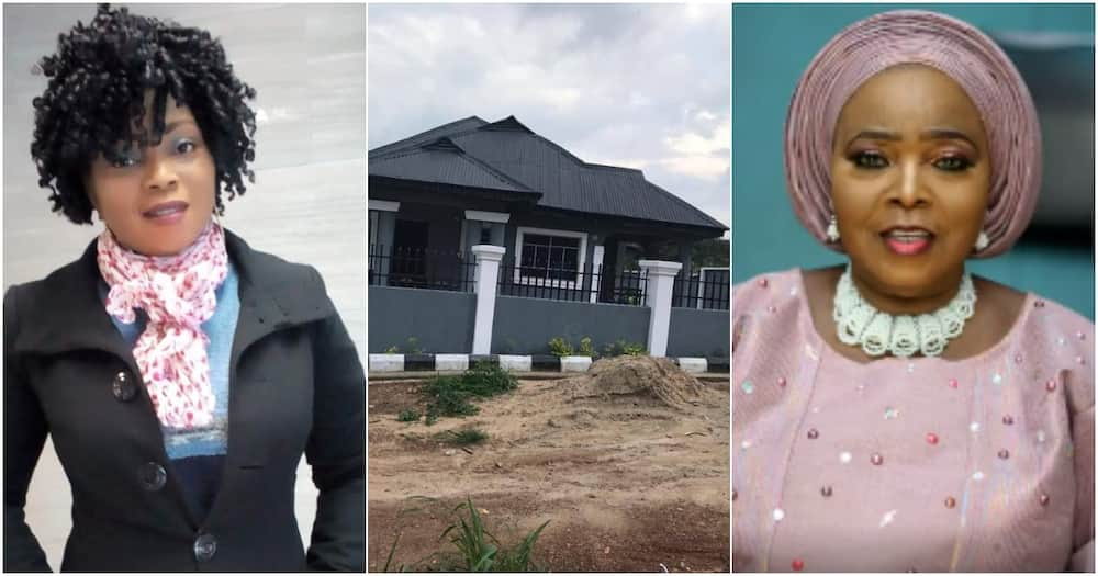 Woman gifts mother a new house