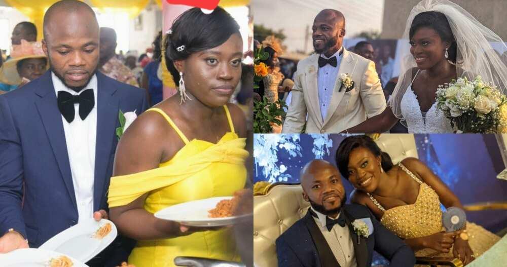 Man & lady who met as best man & maid of Honour at a Wedding in 2018 get Married