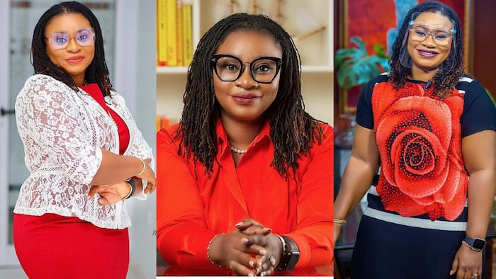 Photo of former EC boss Charlotte Osei's pretty 86-year-old mother surprises Ghanaians
