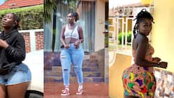 Choqolate GH: Shatta Wale's girl drops hot photos to show her beautiful curvy body